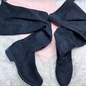 Forever Suede Over The Knee Boots